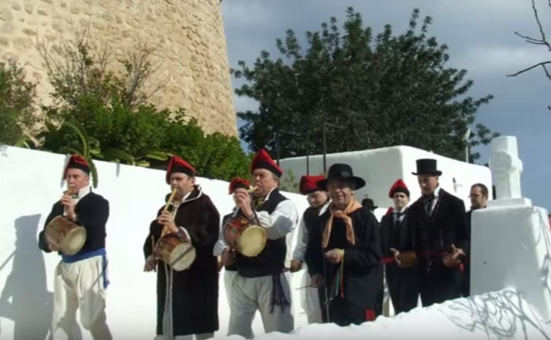 instrumentos del Ball pagès Ibiza