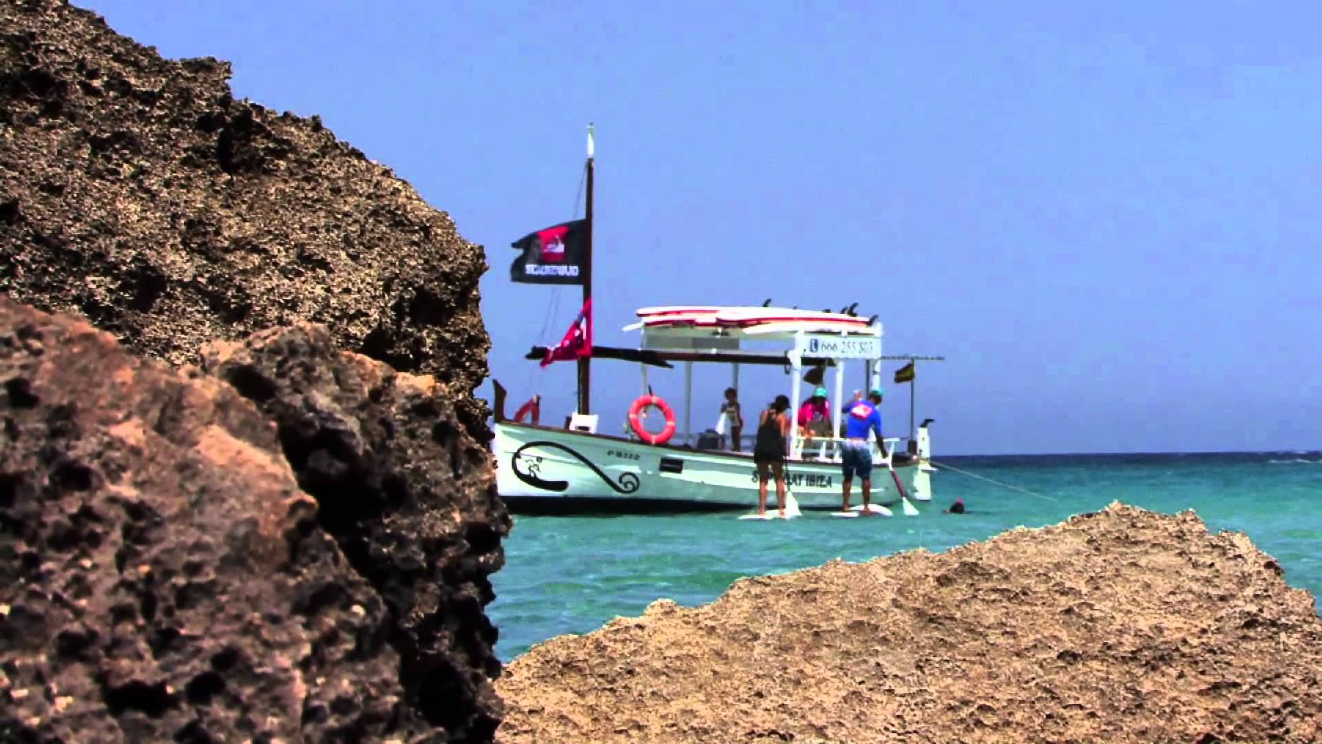 Tarde de Paddel Surf Ibiza