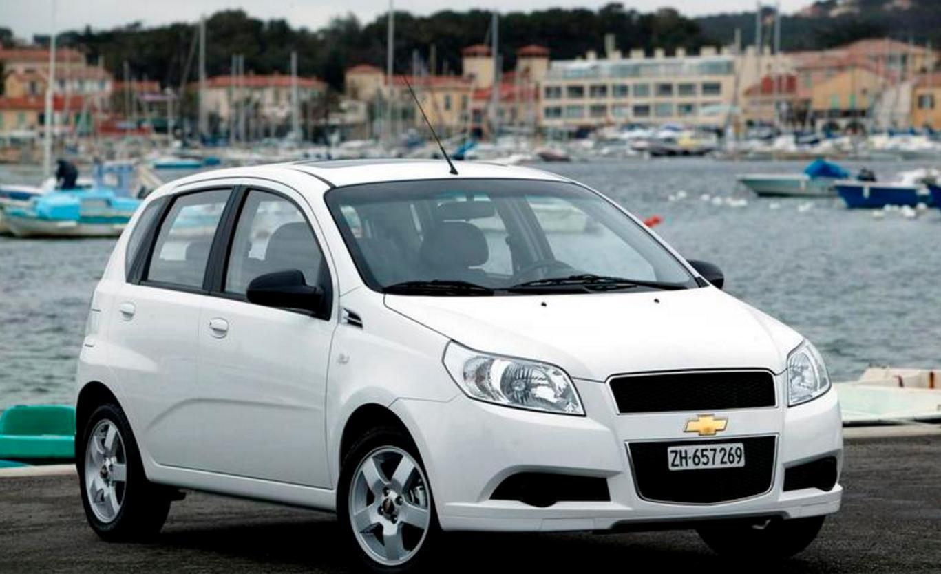 Chevrolet Aveo1.2 alquiler coche ibiza