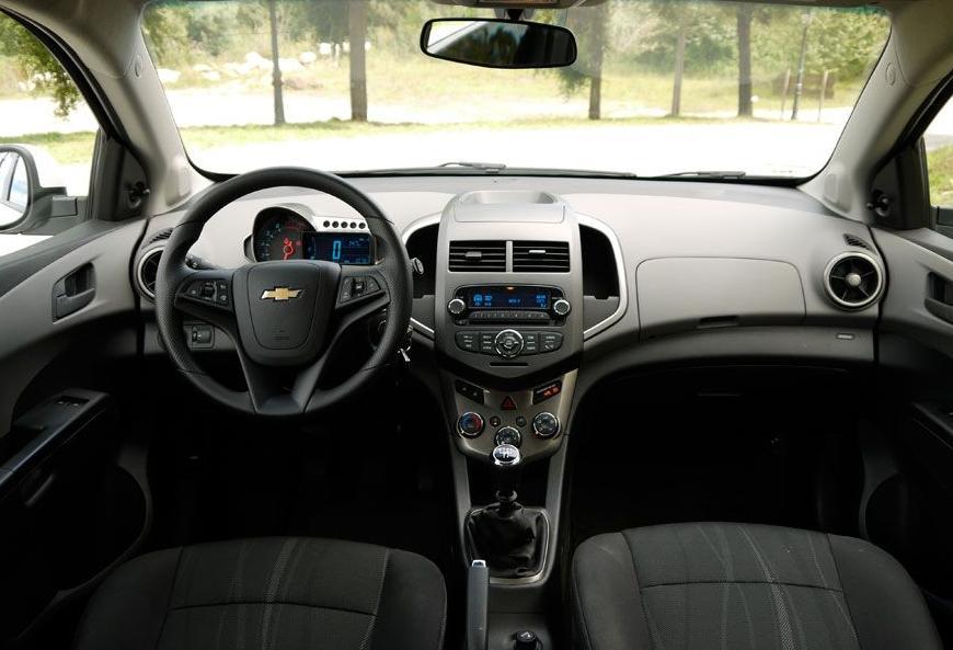 habitáculo interior chevrolet 1.2 Ibiza