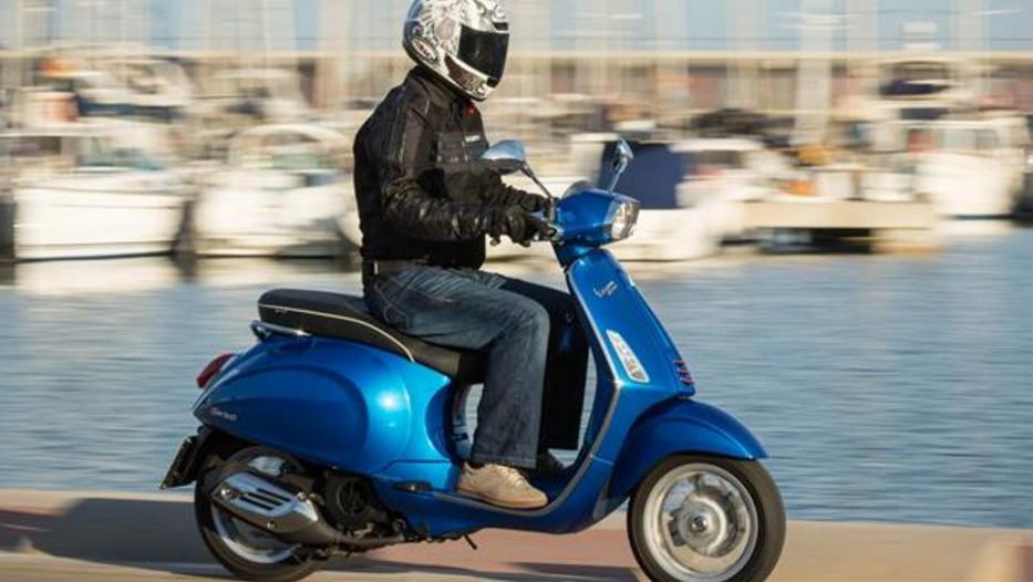 Vespa Motor Sprint 125 por Ibiza