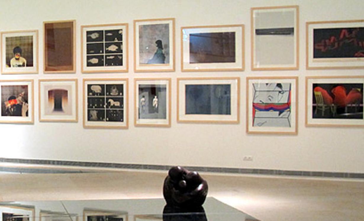 Exposición grabados artístas japoneses