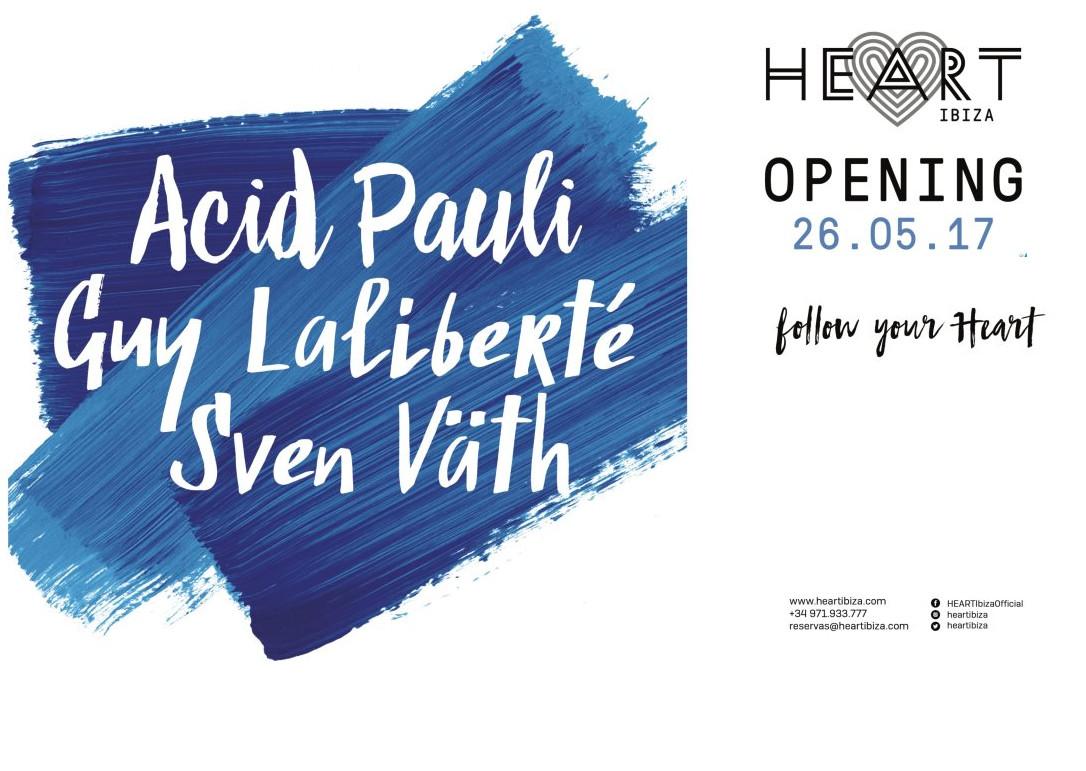 Heart Ibiza opening Ibiza 2017