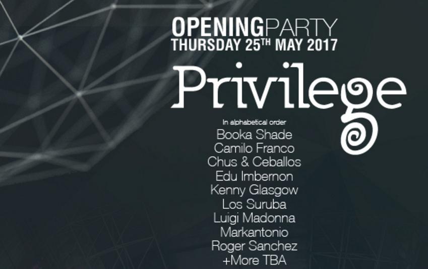 Privilege opening Ibiza 2017