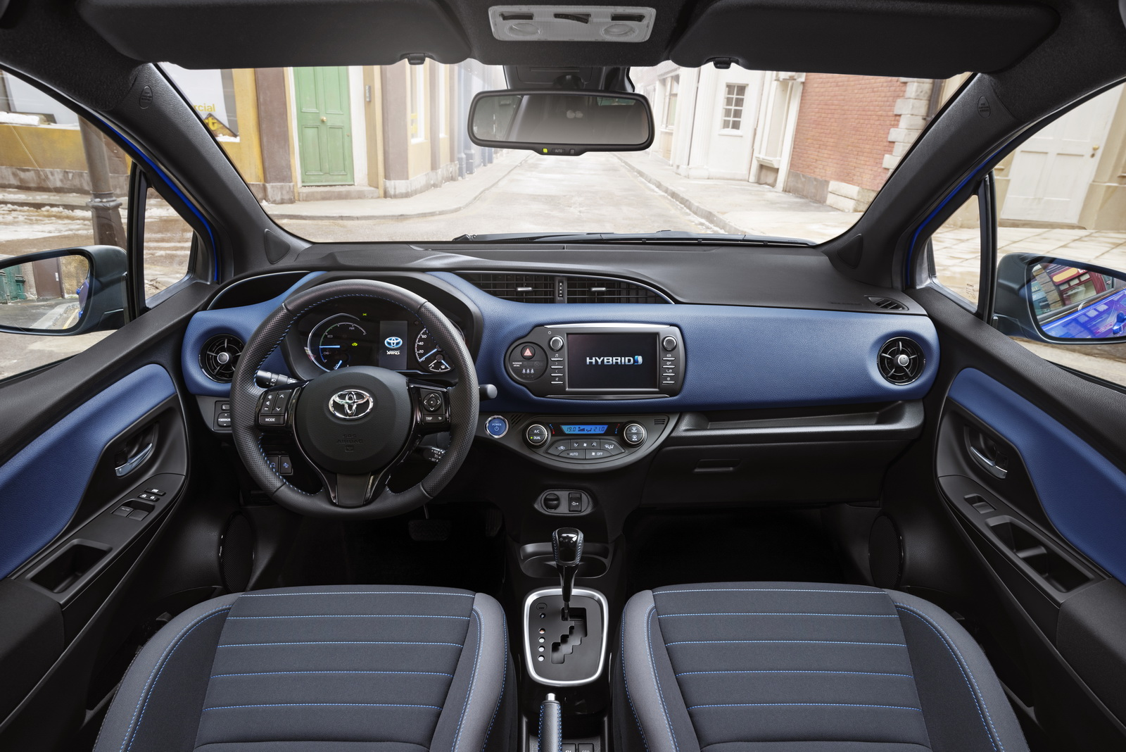toyota yaris interior rent a car Ibiza