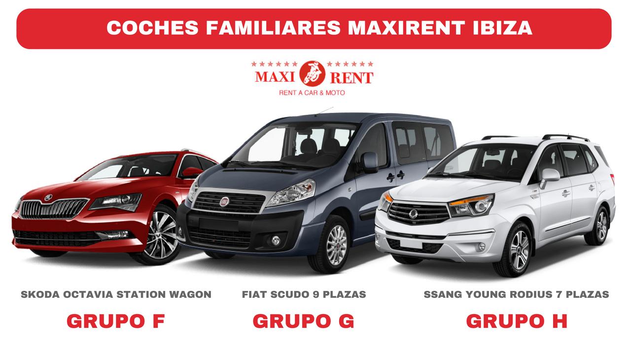 Mejor alquiler coche familiar Ibiza
