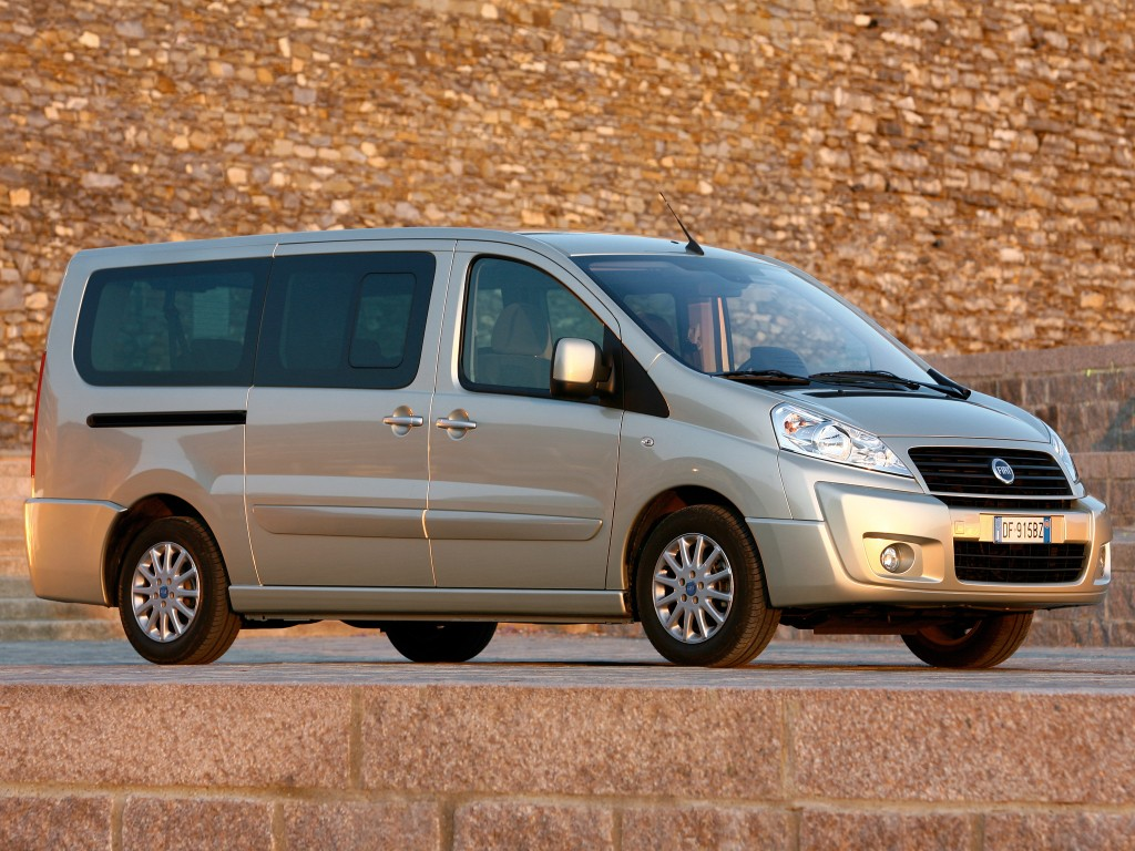 Fiat Scudo 9 plazas rent a car Ibiza