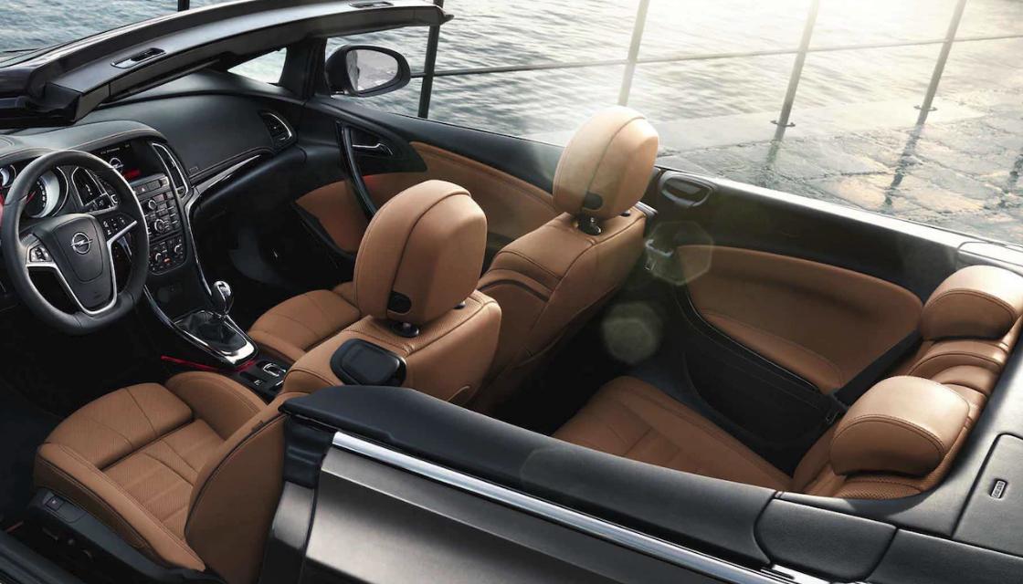 Opel cascada comandos alquiler coche descapotable Ibiza