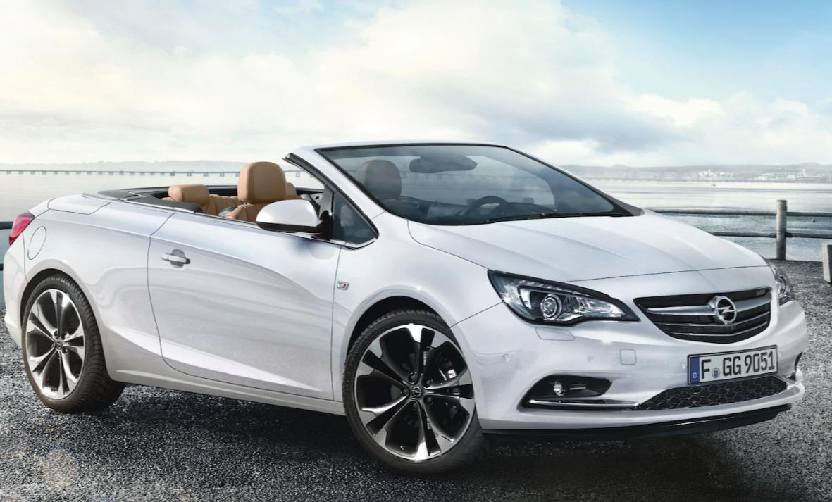 Opel cascada alquiler coche descapotable Ibiza