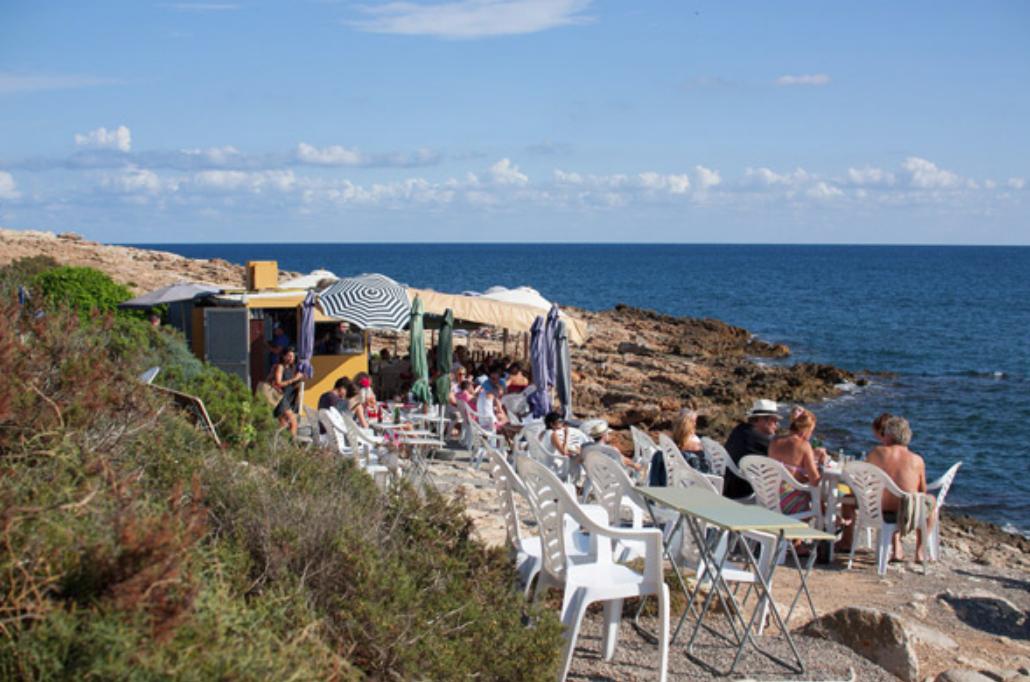 Chiringuito Maria Talamanca rent a car Ibiza