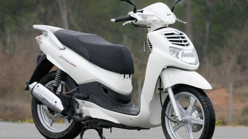 SYM HD alquiler moto Ibiza